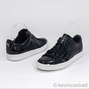 Puma Select Basket Patent Leather Sneakers